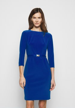 Lauren Ralph Lauren - BONDED DRESS - Vestido de tubo - french ultramarin