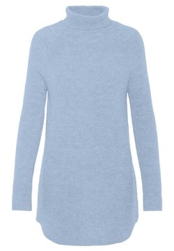 Pieces - PCELLEN LONG - Neule - cashmere blue