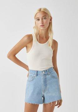 PULL&BEAR - Jeans Shorts - light blue