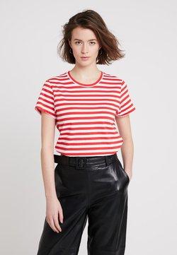 Samsøe Samsøe - SOLLY TEE - T-Shirt print - red