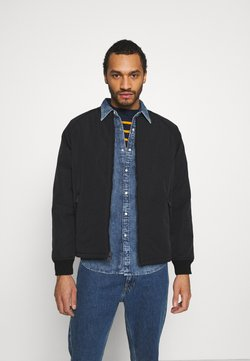 Levi's® - HYDE QUILTED BOMBER - Giubbotto Bomber - black