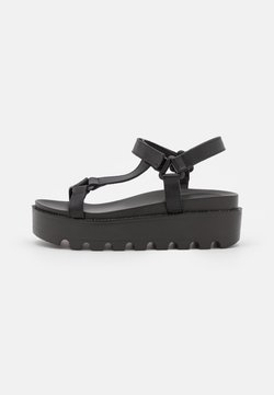 Koi Footwear - VEGAN AMARI BARELY THERE  - Korkeakorkoiset sandaalit - black