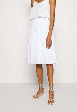 Anna Field - Plisse A-line mini skirt - A-Linien-Rock - white