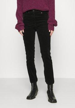 Weekday - EVE TROUSER - Pantalones - black