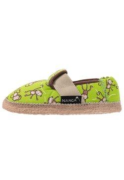 Nanga - LUSTIGE AFFEN - Pantoffels - grün
