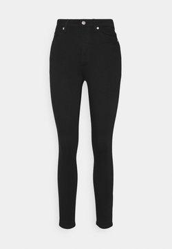NA-KD - HIGH WAIST - Jeans Skinny Fit - black