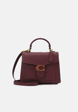 Coach - RESIN C CLOSURE TABBY TOP HANDLE - Handbag - wine