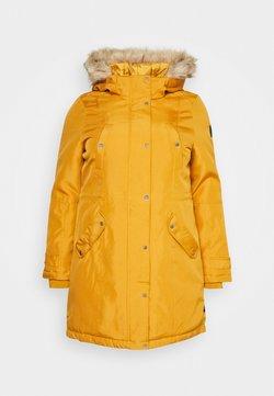 Vero Moda Curve - VMTROK - Abrigo de invierno - buckthorn brown