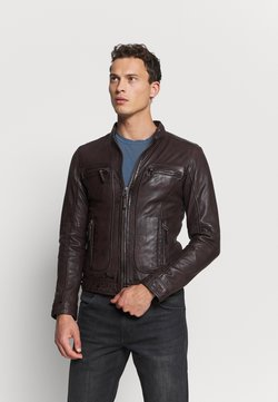 Oakwood - CASEY  - Leather jacket - wine