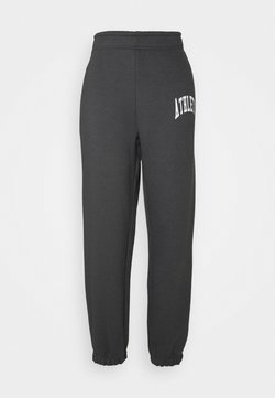 Weekday - SOFT SPORT CORINNA PANTS - Træningsbukser - super dark grey