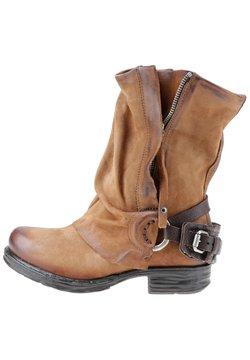 A.S.98 - Cowboy-/Bikerstiefelette - calvados