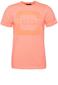 CODE | ZERO - FORESAIL - T-shirts print - coral