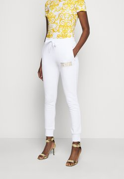 Versace Jeans Couture - Jogginghose - optical white/gold