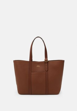 Polo Ralph Lauren - PEBBLED CLASSIC TOTE - Torba na zakupy - light brown