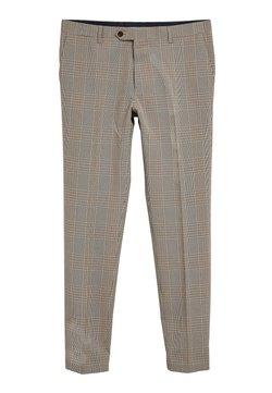 Next - SLIM FIT - Anzughose - beige