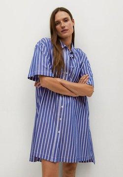 Mango - MILLE-H - Blusenkleid - porzellanblau