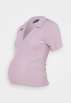 Missguided Maternity - V NECK COLLARE - Camiseta básica - lilac