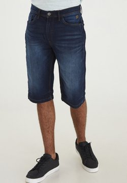 Blend - Shorts di jeans - denim dark blue