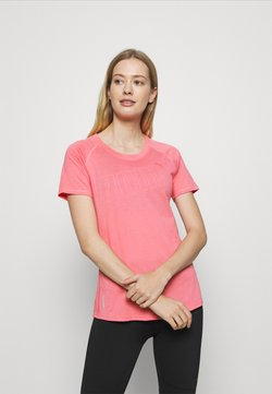 Puma - RAGLAN TEE - T-Shirt print - bubblegum