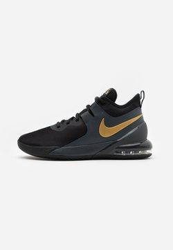 Nike Performance - AIR MAX IMPACT - Basketbalschoenen - black/metallic gold/dark smoke grey