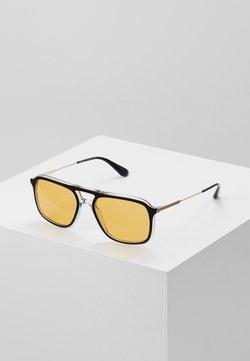 Prada - Lunettes de soleil - top black/crystal
