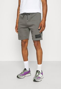 CLOSURE London - TONAL BOX LOGO - Shorts - charcoal