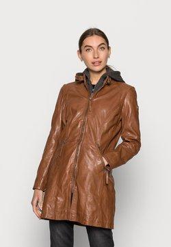 Gipsy - JANDRA LAMAS - Leather jacket - cognac