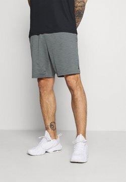Nike Performance - YOGA - kurze Sporthose - smoke grey/iron grey/black