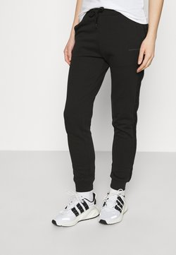 Calvin Klein Jeans - LOGO PANTS - Jogginghose - black