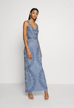 Lace & Beads - NAFISA - Ballkleid - dusty blue