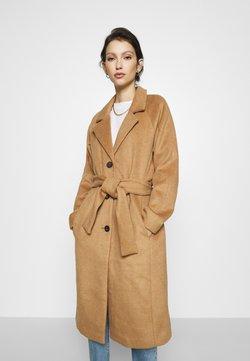 Object - Classic coat - camel