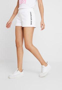 Calvin Klein Jeans - TRACK LOGO  - Jogginghose - bright white
