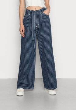 Levi's® - WIDE LOOSE - Relaxed fit jeans - change stripes