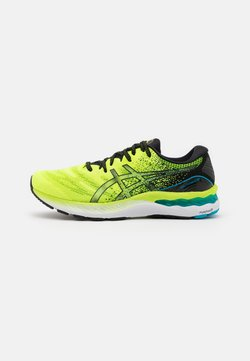 ASICS - GEL-NIMBUS 23 - Zapatillas de running neutras - hazard green/black