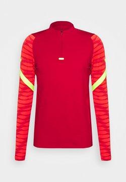 Nike Performance - STRIKE21 DRIL - Funktionsshirt - gym red/bright crimson/volt