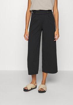 JDY - JDYGEGGO NEW ANCLE PANTS - Pantalones - black