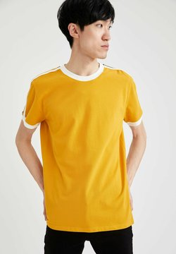 DeFacto - T-shirt con stampa - yellow