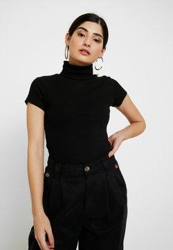 Anna Field Petite - Camiseta estampada - black