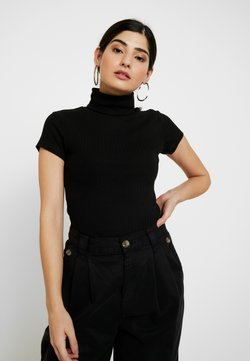 Anna Field Petite - T-shirt med print - black