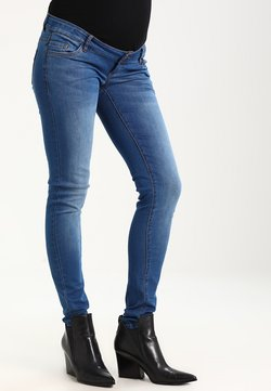 MAMALICIOUS - Slim fit jeans - medium blue denim