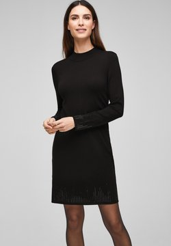 s.Oliver BLACK LABEL - Strickkleid - black