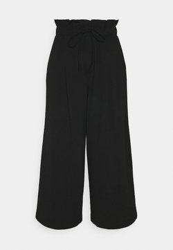 ONLY - ONLKIRAS LIFE CULOTTE PANTS - Kangashousut - black