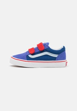 Vans - OLD SKOOL UNISEX - Sneaker low - baja blue/high risk red