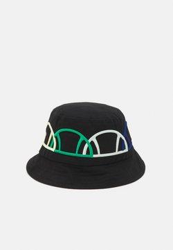 Ellesse - PINALA BUCKET HAT UNISEX - Hattu - black