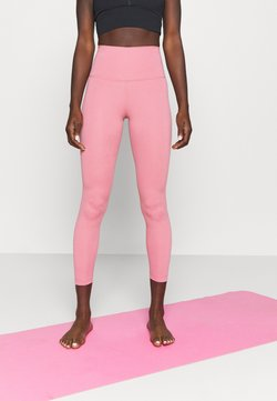 Nike Performance - THE YOGA 7/8 - Tights - desert berry/heather/light arctic pink