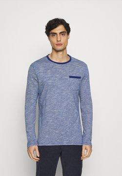 Pier One - T-shirt à manches longues - blue