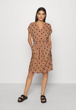 ICHI - IHBRUCE - Day dress - brown/black