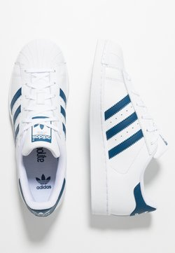 adidas Originals - SUPERSTAR - Sneakers laag - footwear white/legend marine