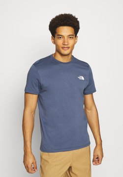 The North Face - SIMPLE DOME TEE - T-Shirt basic - vintage indigo