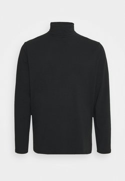 Pier One - T-shirt à manches longues - black
